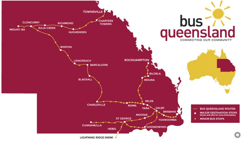 Accommodation Rpma Qld - Queensland Bus